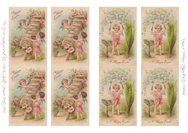 Wings of Whimsy: Happy Easter Cherubs