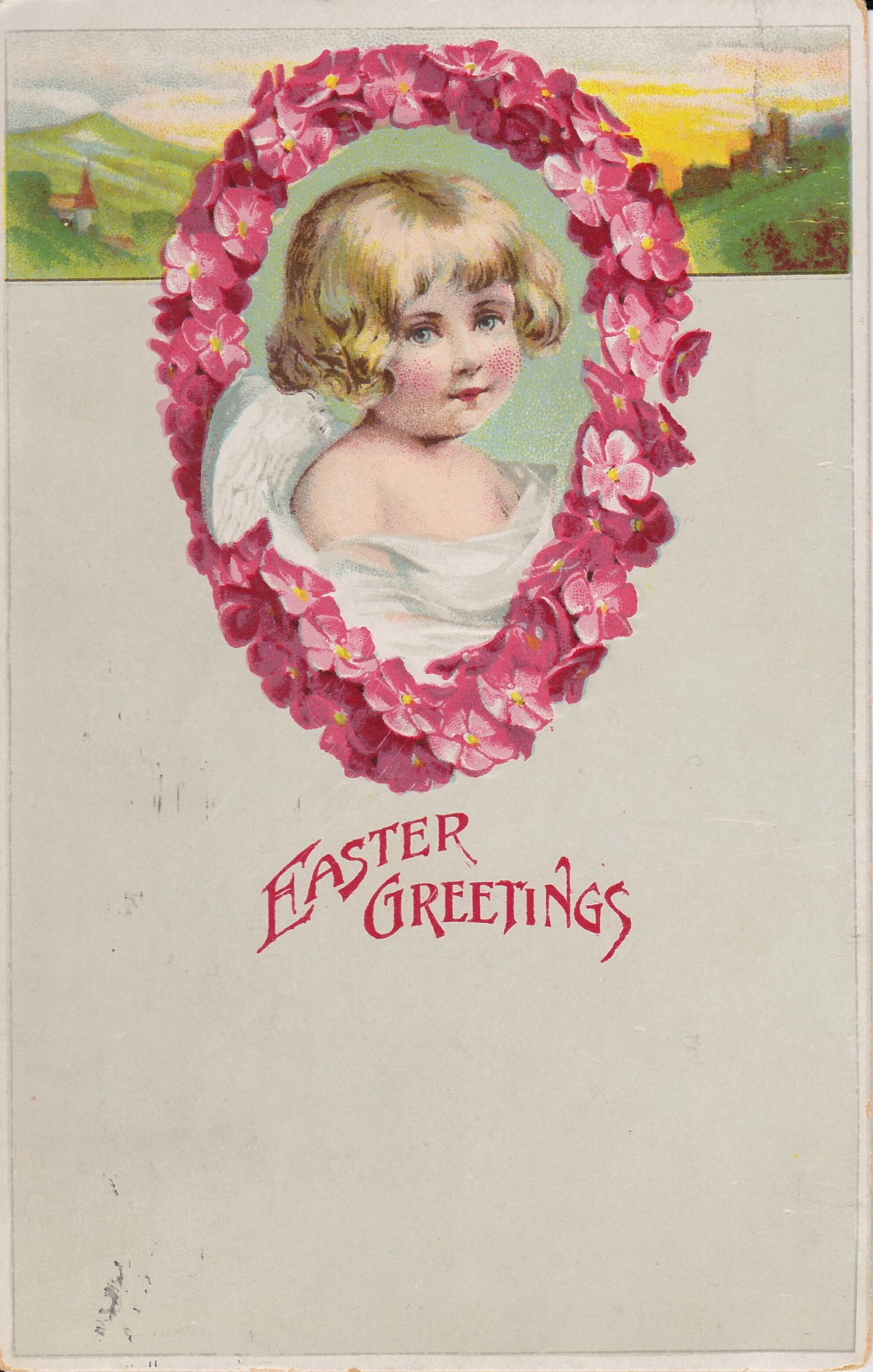 EasterGreetingsWithPinkFlowers_WingsOfWhimsy