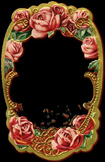 Wings of Whimsy: Rose Frame