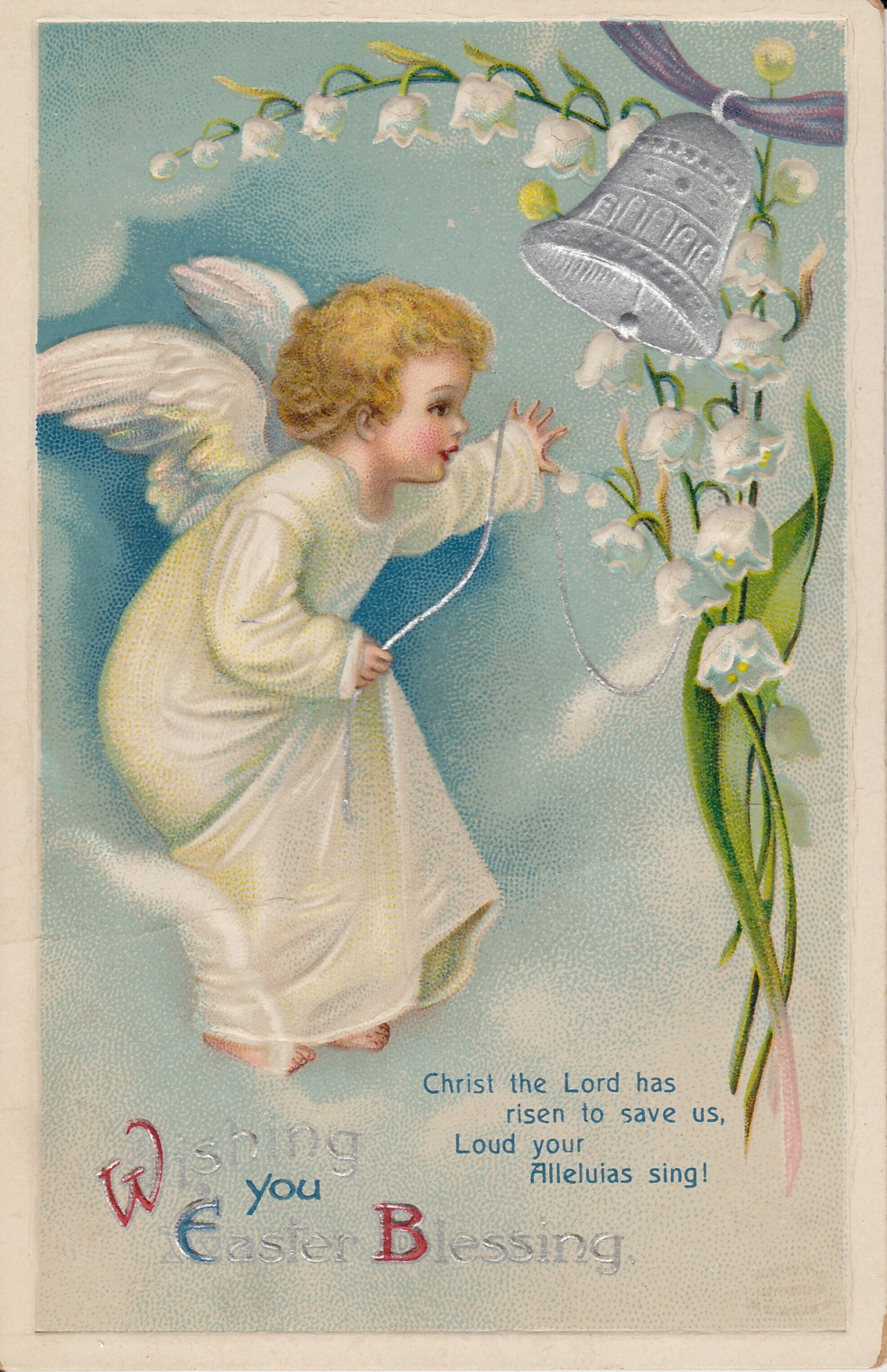 Wings of Whimsy: Wishing You Easter Blessing - free for personal use #vintage #ephemera #printable #freebie #easter
