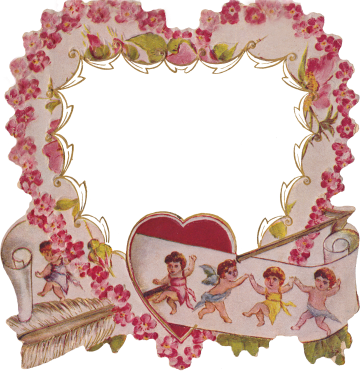 Wings of Whimsy: Die Cut Heart Frame
