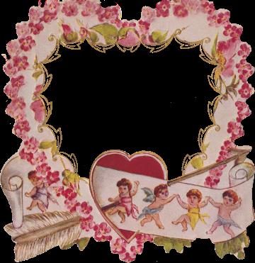 Wings of Whimsy: Die Cut Heart Frame