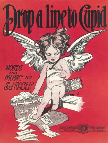 Wings of Whimsy: Drop A Line To Cupid - Sheet Music - free for personal use