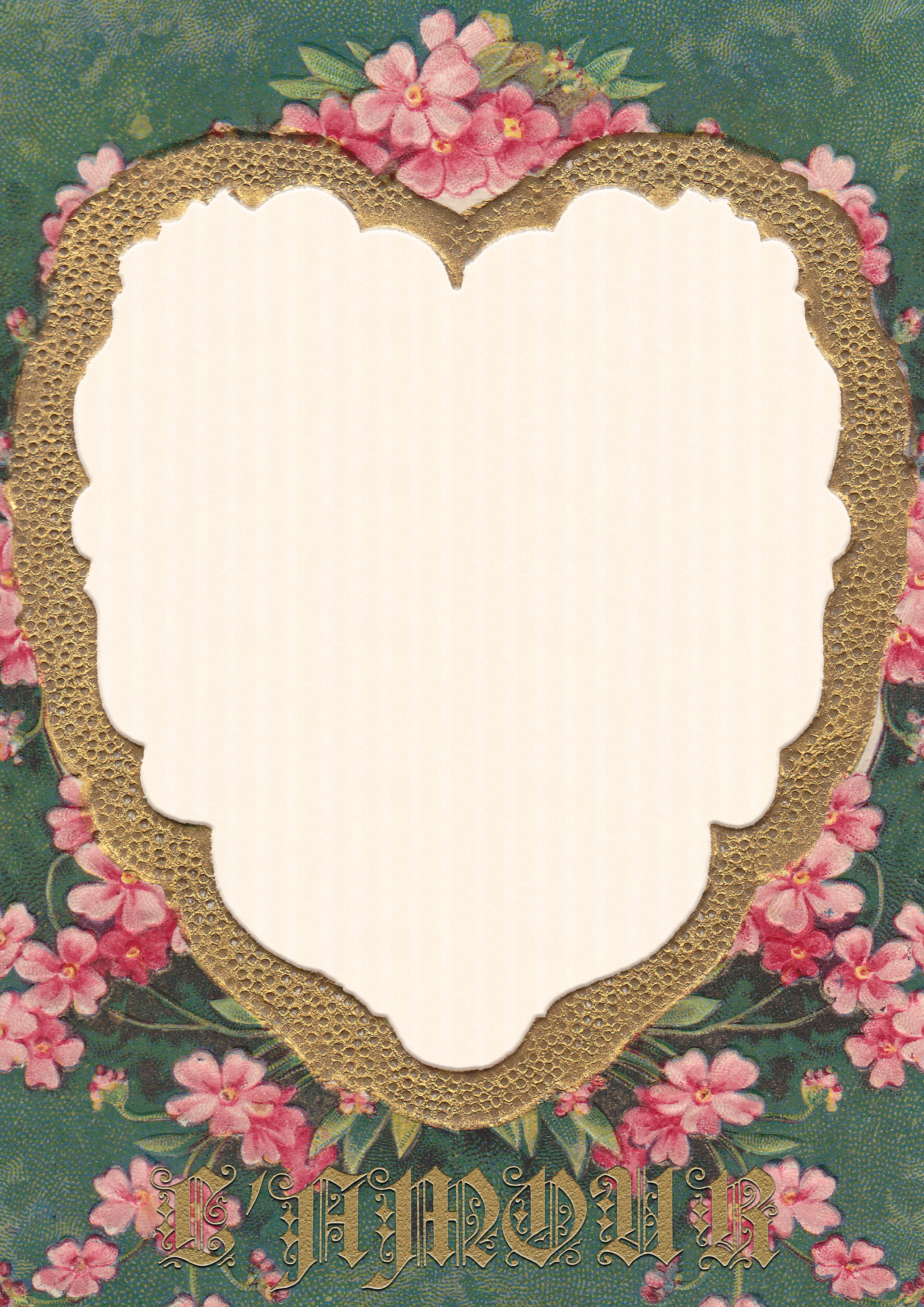 Wings of Whimsy: French L'Amour Letter Sheet - free for personal use