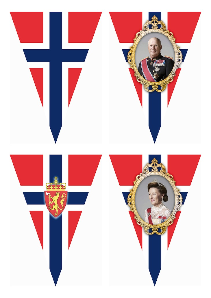 Wings of Whimsy: Norwegian National Day Bunting
