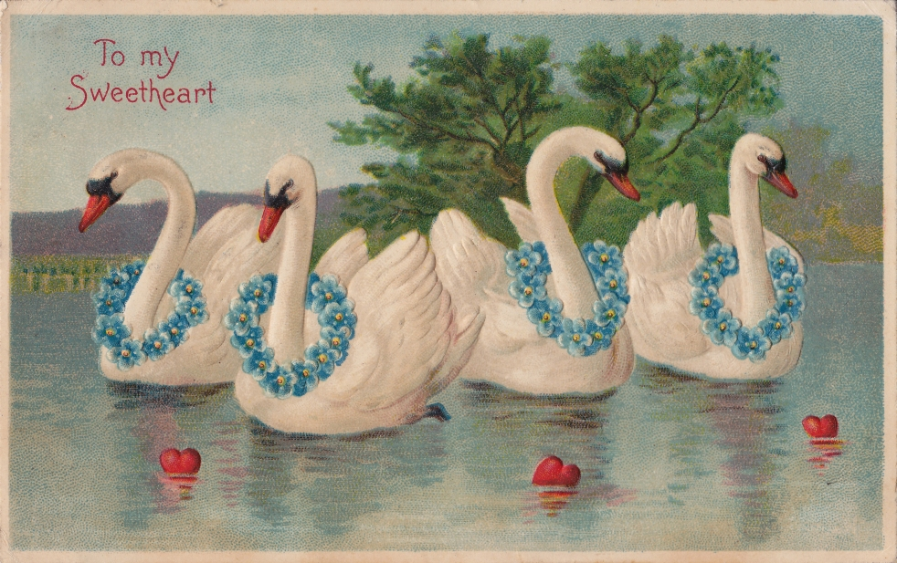 Wings of Whimsy: To My Sweetheart 1908 - free for personal use