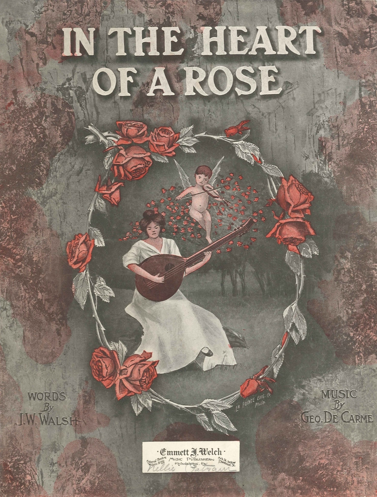 Wings of Whimsy: In The Heart Of A Rose - Sheet Music - free for personal use