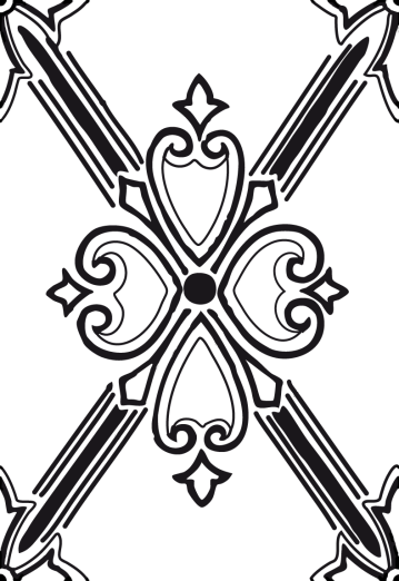 Wings of Whimsy: Lattice Cross Seamless Tile - PNG - free for personal use