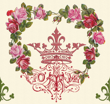 Wings of Whimsy: Queen At Home Tile 3 - free for personal use