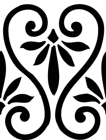 Wings of Whimsy: Simple Swirl Seamless Tile - PNG - free for personal use