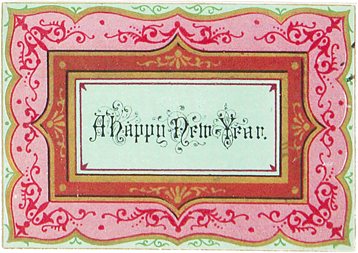 Wings of Whimsy: A Happy New Year - free for personal use #vintage #victorian #edwardian