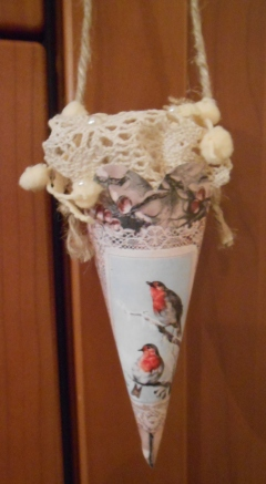 Sil's Christmas Cones