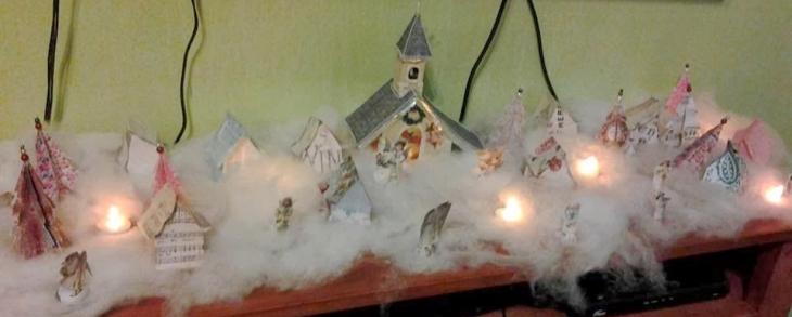 Delia's Christmas Village