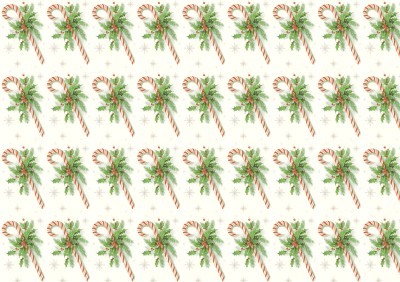 Wings of Whimsy - Candy Cane Printable Paper 2 - free for personal use #retro #ephemera #printable #freebie #christmas #peppermint #stick