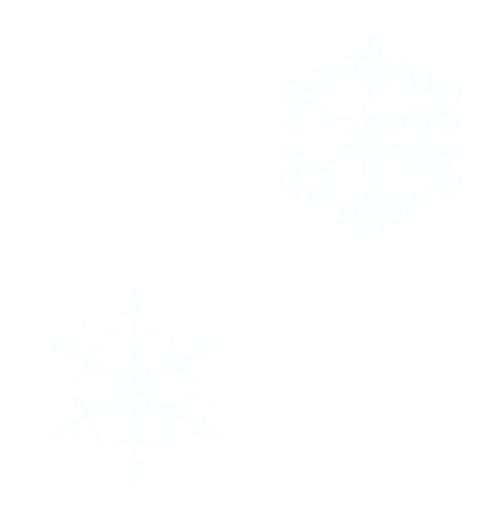 Wings of Whimsy: Seamless Snowflake Tile - PNG (transparent background) - free for personal use