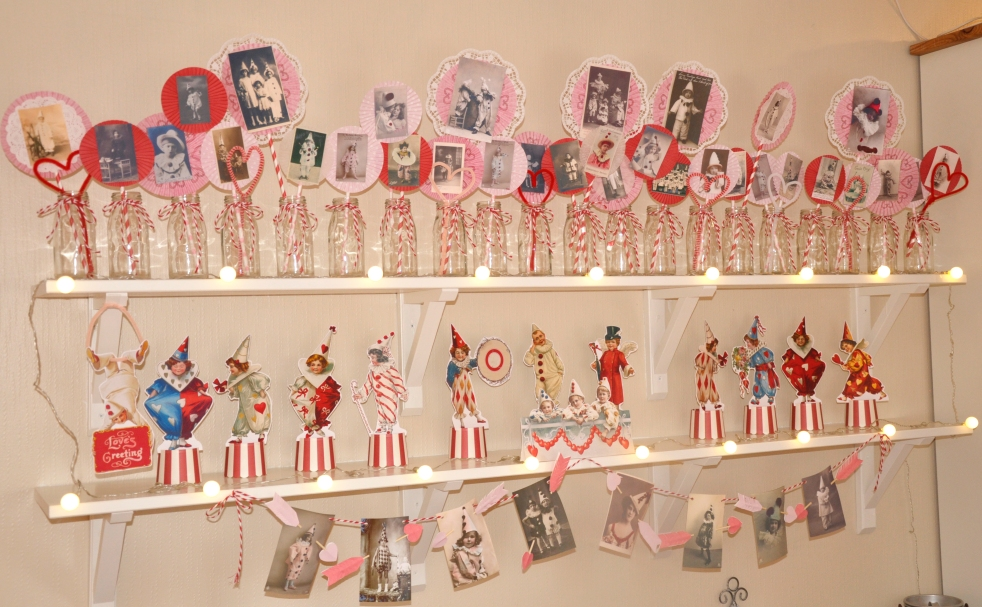 Wings of Whimsy: Vintage Valentine Love Circus
