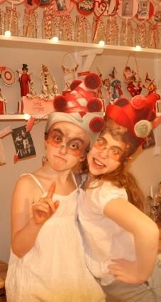 Wings of Whimsy: Valentine Love Circus Pierrot & Pierrette - free for personal use #vintage #ephemera #freebie