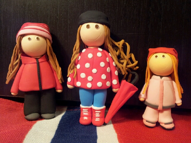Wings of Whimsy: Ana's Little Figures