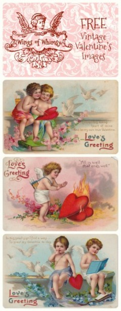 Wings of Whimsy: Cherub Valentine Images Pinfographic