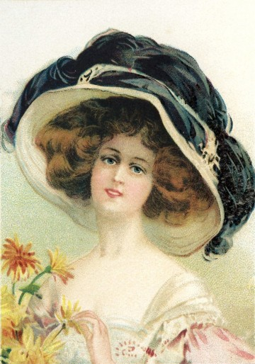 Victorian-Hat-Woman-Image-GraphicsFairy