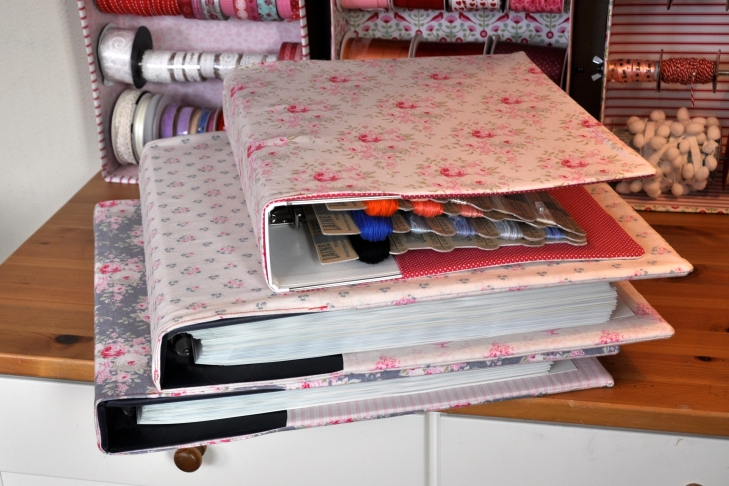 Wings of Whimsy: The Vintage Sewing Room - DIY Lace&Thread Album - free for personal use #vintage #ephemera #printable #freebie #sewing