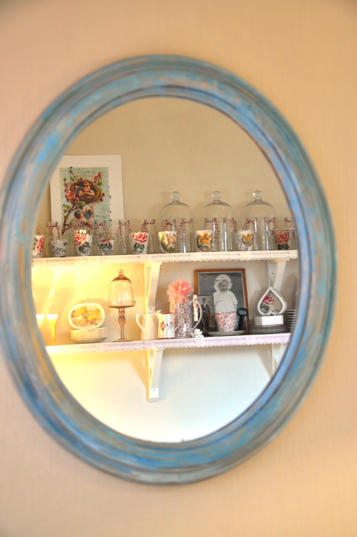 Wings of Whimsy: Painted Mirror