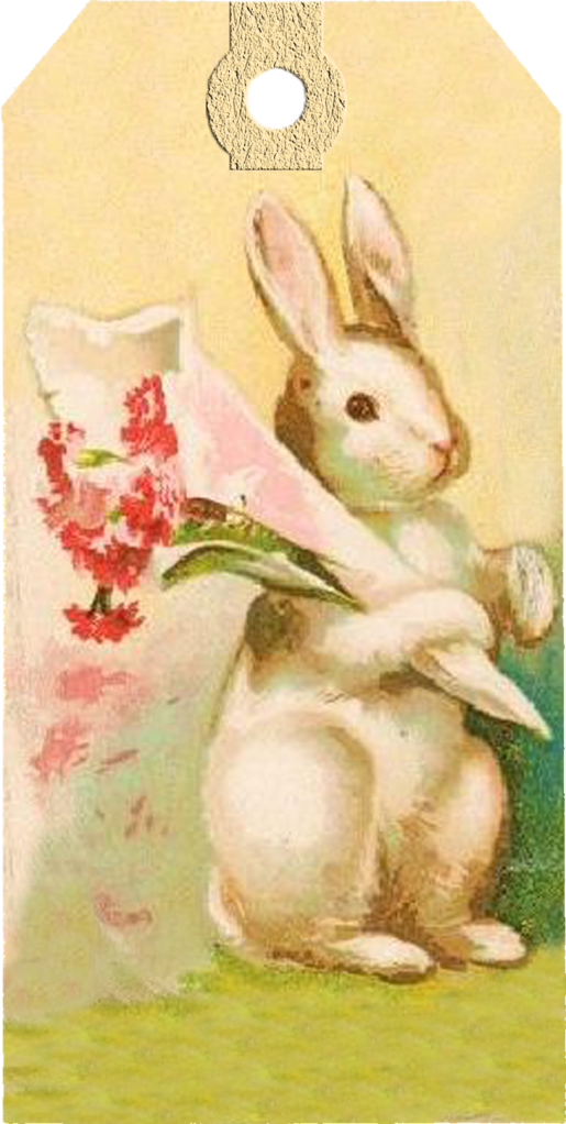 vintage easter bunny - photo #30