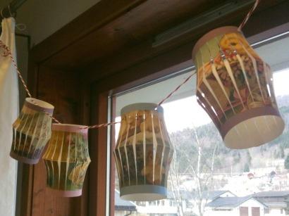 Wings of Whimsy: DIY VIntage Easter Lanterns - free for personal use #vintage #ephemera #printable #freebie #easter #bunny
