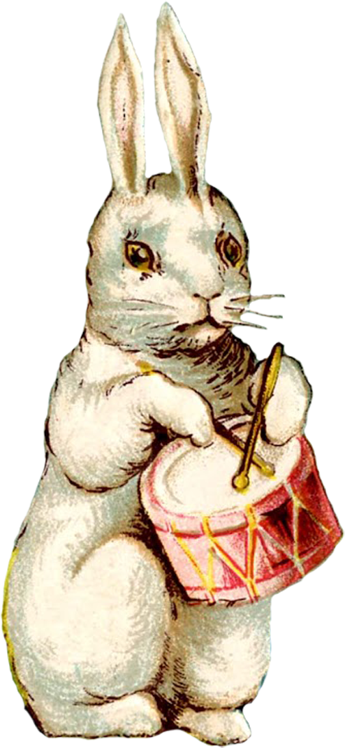 vintage easter bunny - photo #36