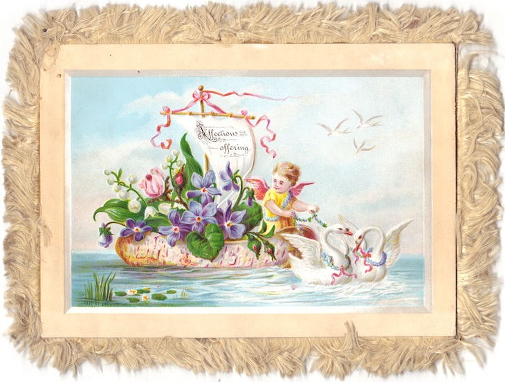 Wings of Whimsy - Sailing Cherubs #vintage #ephemera #freebie #printable #cherubs