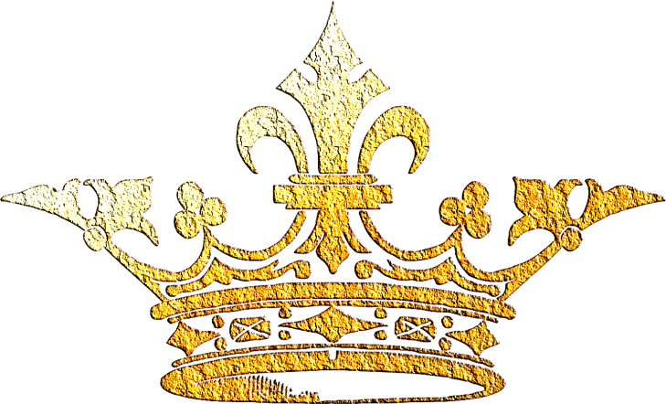 Wings of Whimsy: Gilded Vintage Crown 4 - PNG (transparent background) #vintage #freebie #printable #scrap