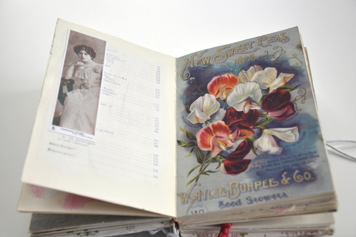 Wings of Whimsy - DIY Old Book Crafts No 6B - Sweet Pea Journal