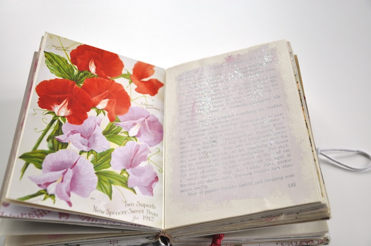 Wings of Whimsy - DIY Old Book Crafts No 6A - Sweet Pea Journal