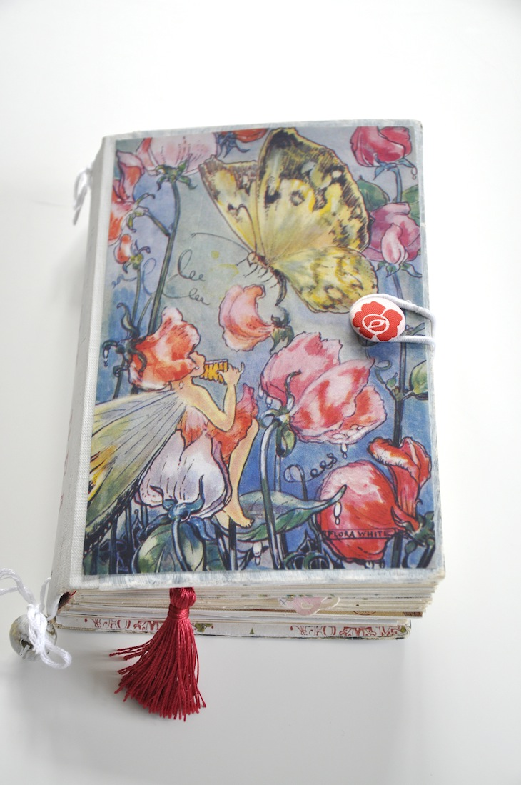 Book Cover Craft Books : Diy old book crafts no a sweet pea journal wings of