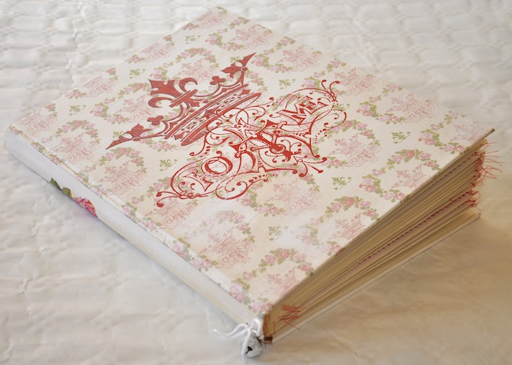 Wings of Whimsy: DIY Old Book Crafts No 8 - Queen At Home Stationery Folder