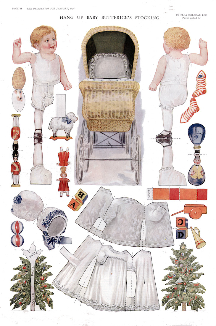 Wings of Whimsy: 1914 Delineator - Baby Butterick