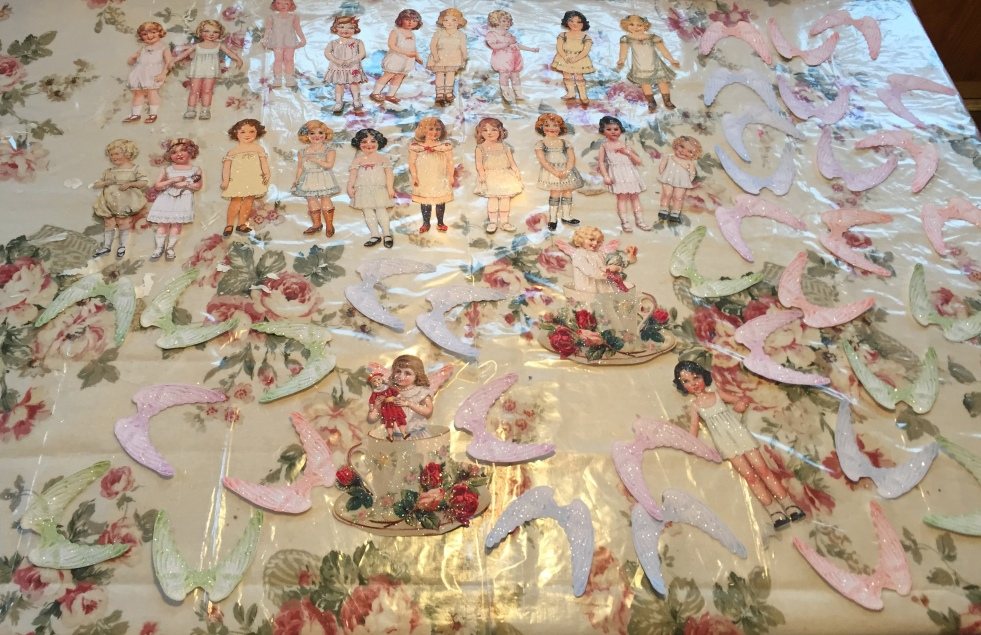 Wings of Whimsy: Vintage Paper Doll Angels #vintage #printable #freebie #ephemera #paper #doll