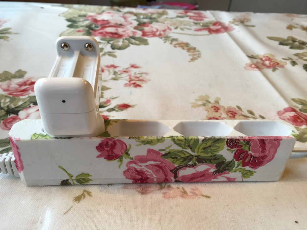 Wings of Whimsy: Decoupaged Power Strip