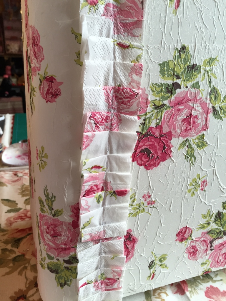 Wings of Whimsy: Decoupaged Sewing Machine Hard Top