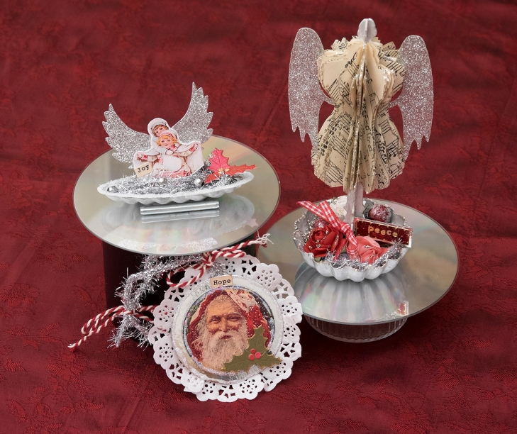 Wings of Whimsy: Christmas Ornament Swap 2014 - Review