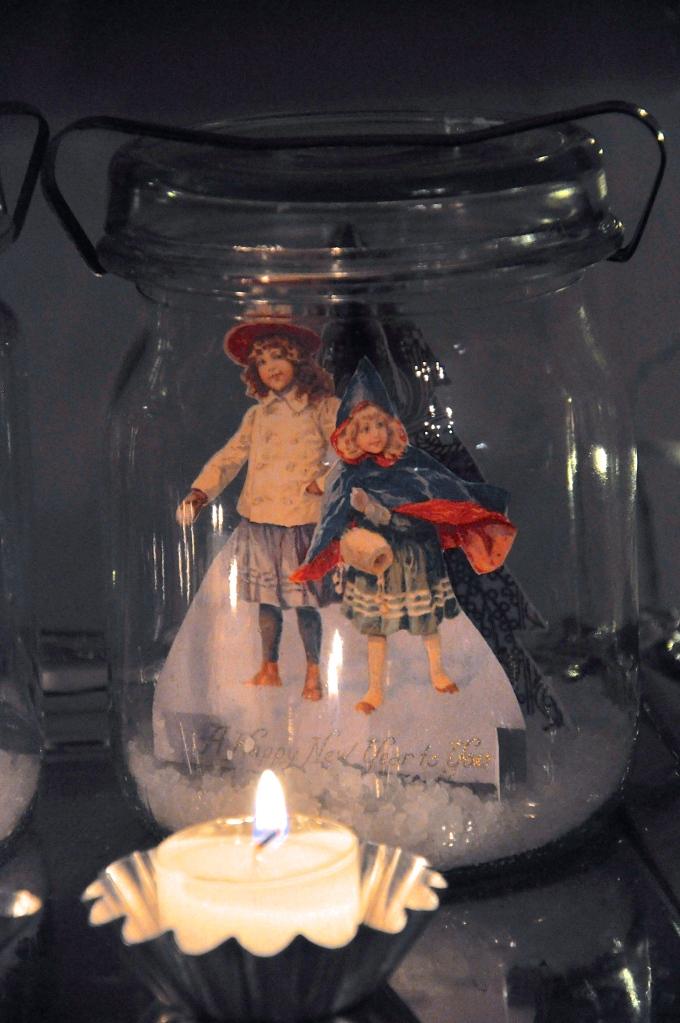 Wings of Whimsy: Vintage Snow Globes #freebie #printable #ephemera #christmas #victorian