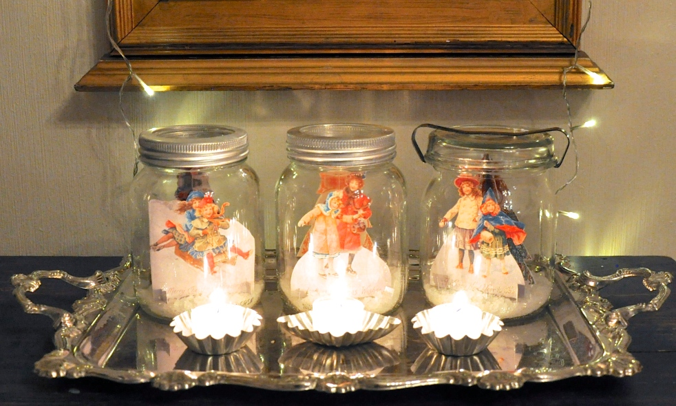 Wings of Whimsy: Vintage Snow Globes #freebie #printable #ephemera #christmas #victorian