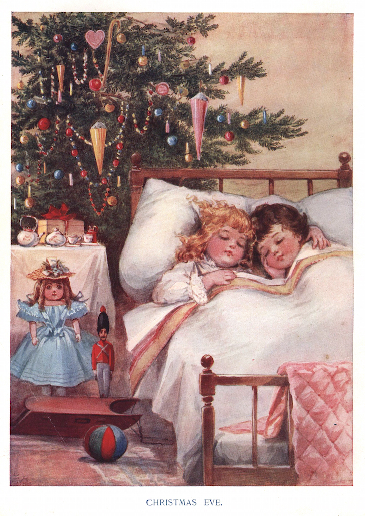 Wings of Whimsy: Christmas Eve #vintage #victorian #printable #freebie #christmas #instant #art