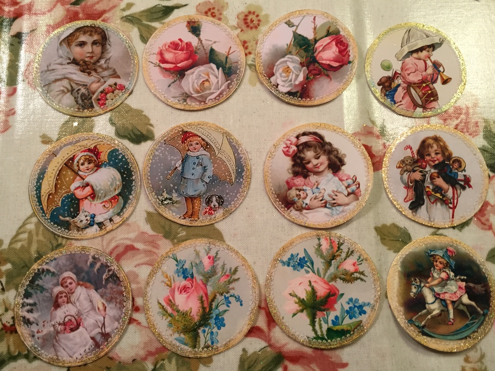 Wings of Whimsy: Vintage Christmas Children Tags #ephemera #vintage #freebie #printable