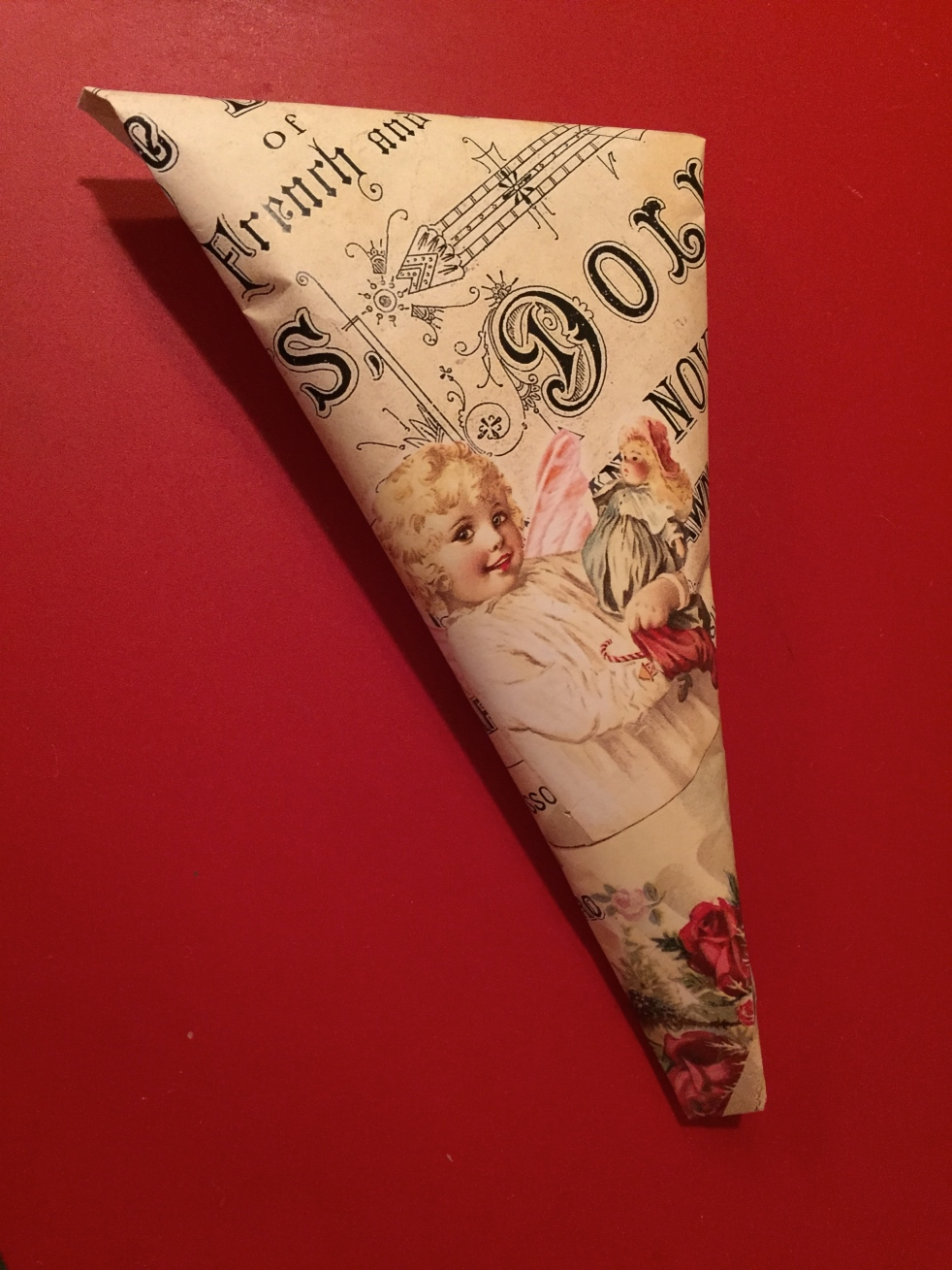 Wings of Whimsy: DIY Vintage Wrapping - Norwegian Spisspose