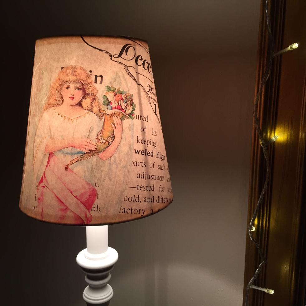Wings of Whimsy: DIY Christmas Lamp Shade