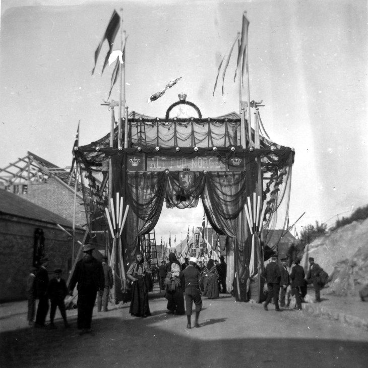 The 1906 Coronation Journey