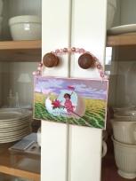 Wings of Whimsy: Cherubs In Egg Boats - DIY Easter Hangers #vintage #ephemere #freebie #printable #easter #baby #cherub #egg #boat