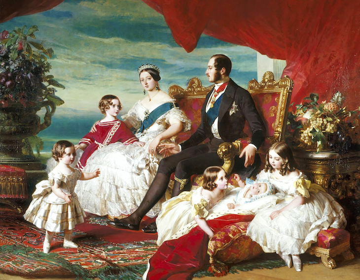 WIngs of Whimsy: Family of Queen Victoria  by Franz Xaver Winterhalter #vintage #ephemera #pretty #data #victorian #freebie #printable