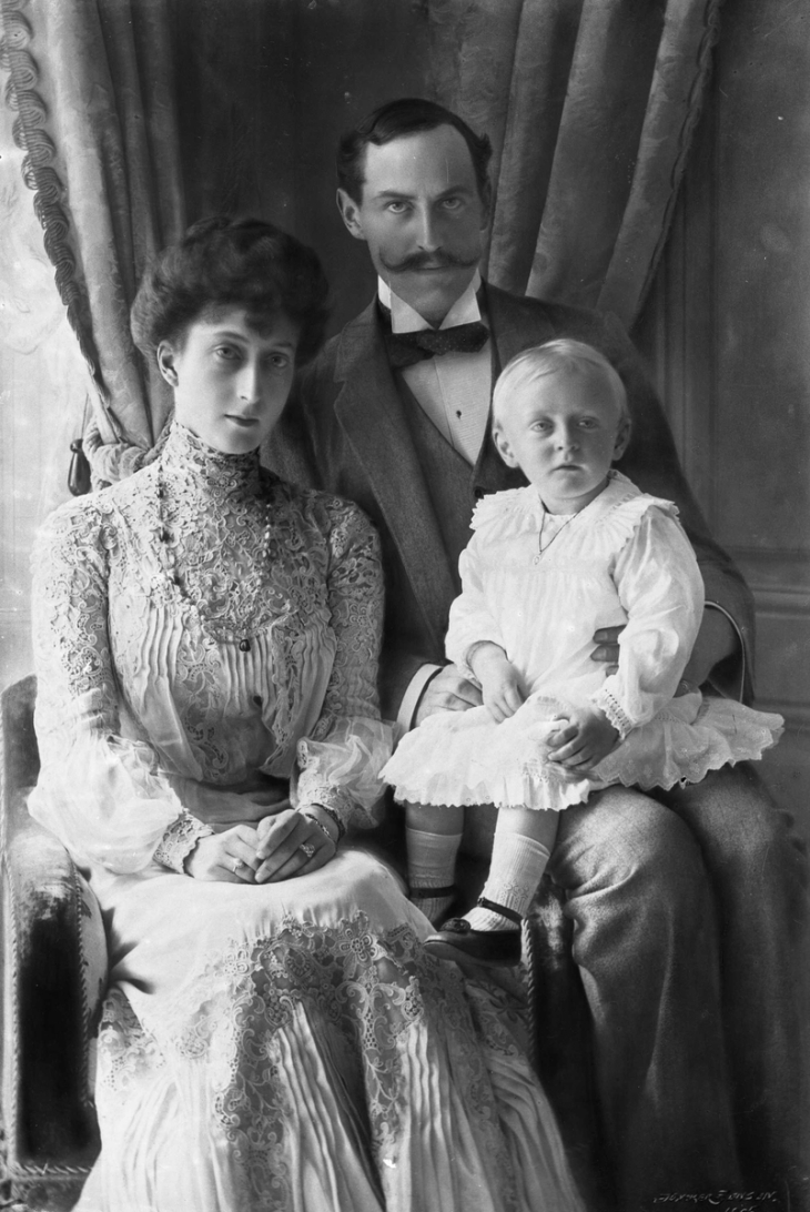 Wings of Whimsy: King Haakon VII, Queen Maud, Crown Prince Olav, Norway 1907